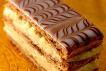Desserts gâteaux