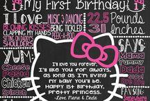 Lexi 1st birthday