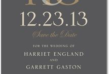 Save the Date  / by Lauren Parker