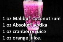 Getränke und Essen