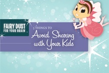 Things to avoid sharing with your kids...