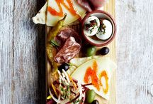 DiP / cheese plate and antipasti