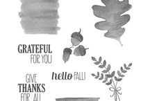 For All Things (Oct 19, 2015) / Stampin' Up! stamp set For All Things, blog hop