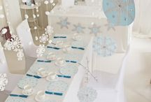frozen theme table setting