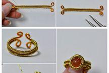 Δαχτυλίδια από τυλιγμένο σύρμα