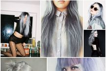 Hair color (Silver/grey)