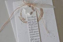 Karten und Geschenke