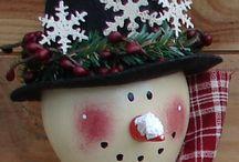 Snowmen / by Charlotte Kimball