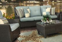 Outdoor / Find your perfect patio set in Kane's Outdoor Furniture Department.