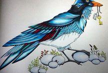 Enchanted Forest - Bird