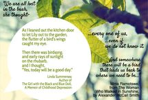 Quotes from The Girl with the Black and Blue Doll / Linda Summersea quotes from her memoir The Girl with the Black and Blue Doll.