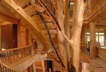 drevene scody zo stromu