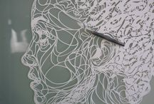 Paper stencils. - Penny