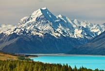 New Zealand / Warren would say..... besides sheep, the wild, raw landscapes, beckons visitors to New Zealand!  Where you can snow ski in the morning and go to the beach the same afternoon. / by Colette CTMH Consultant