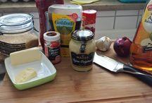 Rubs und Saucen / Zu jedem guten BBQ gehört eine Sauce, oder ein Rub mit dem man das Fleisch einreibt.