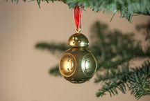 3D printable BB-8 Christmas decoration