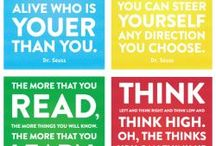 Dr. Seuss Quotes / Dr. Seuss and I share the same birthday... and outlook on life.