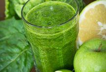 Santé/healthy/juice / Divers recettes de jus, salades...