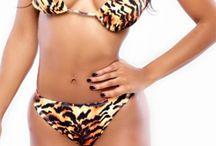 Animal Print Bikinis