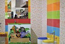 Ideas de decoración de baños para niños. / Ideas, recomendaciones, decoración, tendencias, tips, baños para niños