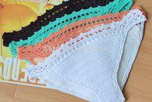 Белье вязаное