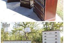 Furniture Re-do's / by Torrie Gilleland