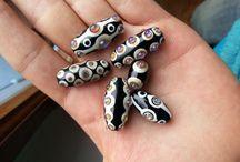 mes perles en verre / my glass beads