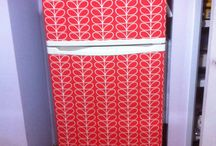 My Orla Kiely fridge / My Orla Kiely fridge :)