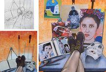 Abby Hope Skinner Art / A selection of my artwork.  http://www.facebook.com/abbyhopeskinnerart