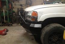 Front bumper builds
