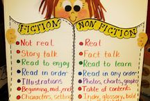 Non-Fiction & Fiction Books / Ideas for teaching about non-fiction and fiction books in the elementary classroom.