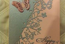 Butterfly border card