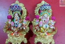 Ganesh Lakshmi / A religious idol to bring prosperity, goodluck along with it a new truth of an era beginning.