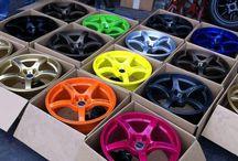 Alu kola (wheels)