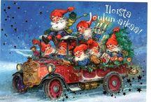 joulukortteja Garcia Arias & Juan vernet