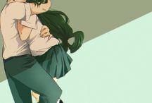OTP / The couple favorite in  anime~❤ random anime!