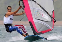 Windsurfing graphics / Inspirational both in shape and in colours, patterns used