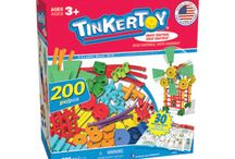 Preschool Playtime! / K'NEX offers little builders endless opportunities for building fun with our Made in the USA TINKERTOY sets and real wood LINCOLN LOGS building sets! Learn more by visiting www.lincolnlogstoys.com and www.tinkertoy.com today! / by K'NEX Brands