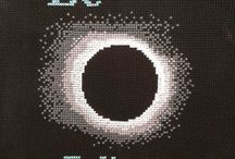 Space Cross Stitch Alphabet