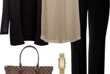 Pantalon negro outfit