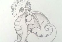 Tattoos - Dragons