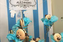 Bears' Baby Shower / Un baby shower sencillo e íntimo