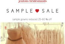 JB Promotions! / In-stores offers and promotions only available at Jealous Bridesmaids!