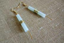 Fimo øreringe / Polymer clay earrings