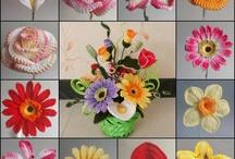 flori crosetate