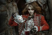 Alice and wonderland / Images that inspire the look for the White Rabbit from Alice and Wonderland.
