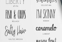 letras tipo