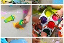 Chalk / by Dot To Dot Child Care