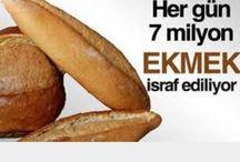 İSRAF HARAMDIR