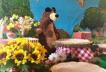 Masha e orso party / Festa compleanno a tema Masha e Orso